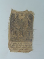 Holy Card 91 Santini Heilgenbild Holycard Images Pieuse Religieuse Image Epinal 1850 Material Silk - Devotion Images