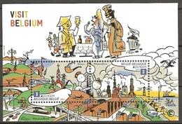 Belgium 2012 Mi.No. 4262 - 4263 (Block 166) Belgien EUROPA CEPT Europe Visits S\SH  MNH** 14,00 € - Europa-CEPT