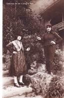 CPA  Val D'Illiez (Suisse Valais) Costumes En 1830 Rare   Deux Femmes  Ed Perrochet Matile - VS Valais