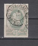 COB TG10 Oblitération Centrale BRUXELLES (Place Royale) Superbe - Telegraafzegels