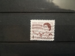 FRANCOBOLLI STAMPS CANADA 1967 USED SERIE CENTENARIO ANNIVERSARY STAMP ALTI VALORI VALORS  OBLITERE' - 1952-.... Règne D'Elizabeth II