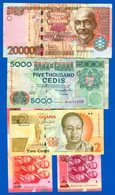 Ghana  5  Billets - Ghana