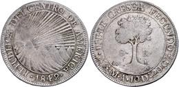 8 Reales, 1842, NG M A, KM 4, Ss.  Ss - Guatemala