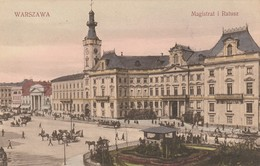 Warszawa - Magistrat I Ratusz - Pologne
