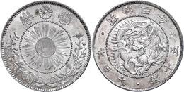 50 Sen, 1870, Mutsuhito, Vz.  Vz - Japón