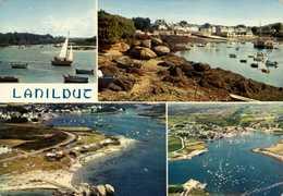 Dep 29 , Cpm  LANILDUT , MX 1756 , L'Aber Ildut Et Le Port , Multivues (01491) - Altri Comuni