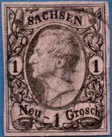 Germany Saxony 18556 Johann I - 1 Ngr, Type II 2005,1505 - Saxony