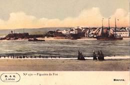 CPA    Figueira Da Foz  (Portugal)  Vue Sur Le Port     Barra      M & R Lisboa 270 - Coimbra