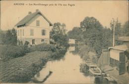 80 AMIENS / Les Hortillonnages Pres De L'Ile Aux Fagots / - Amiens