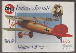Albatros DV, Airfix1/72e - Vliegtuigen