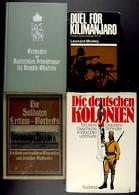 """Deutsch-Ostafrika, 4x Schriften Aus Dem Besitz Von Oberstleutnant Georg Kraut , Dabei """"Die Soldaten Lettow-Vorbecks, Ein - Catálogos"""