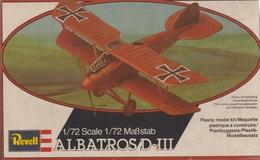 Albatros DIII, Revell 1/72e - Vliegtuigen