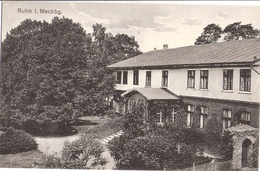 RUHN In Mecklenburg Gutshaus Herrenhaus Bei Marnitz Heute Wüstung TOP-Erhaltung Ungelaufen - Parchim