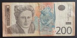 RS - Yugoslavia 200 Dinara Banknote 2005 #AH 8496674 - Yugoslavia