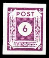 SBZ OSTSACHSEN Nr 62au Postfrisch S62DBB2 - Zone Soviétique
