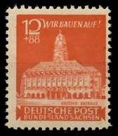 SBZ OSTSACHSEN Nr 65aA Postfrisch X81410A - Zone Soviétique