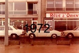 RARE PHOTO......... VOLKSWAGEN KARMANN GHIA EN 1972 - Cars
