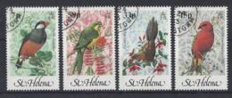 """ST.HELENA...QUEEN ELIZABETH II.(1952-NOW)....."""" 1983..""""......BIRDS...SET OF 4.....VFU. - Birds"""