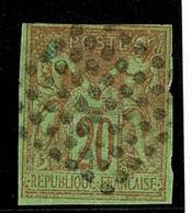 Lot 197 Colonies Generales  YT 42 REUNION - France (ex-colonies & Protectorats)