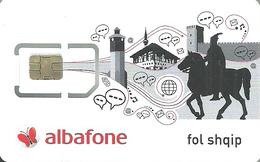 COSMOFON * ALBAFONE * MOBILE * GSM * SIM CARD * BUTTERFLY * INSECT * ANIMAL * Cosmofon 1 * North Macedonia - Macédoine