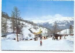 LA RENTE - Téléski Du Col De Fours Et Téléski école. Station De Ski. Vacances à La Neiges - Other Municipalities