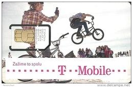 T-MOBILE * MOBILE * GSM * SIM CARD * CYCLING * BICYCLE * BIKE * CYCLE * SPORT * BOY * T-Mobile 11 * Slovakia - Slowakei