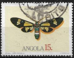 Angola – 1984 Butterflies 15 Kz Used Stamp - Angola