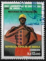 Angola – 1982 Engineering Lab Aniversary 13.00 Kz Used Stamp - Angola