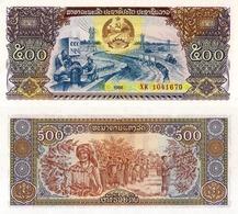 LAOS, 500 KIP, 1988, P31, UNC - Maldives