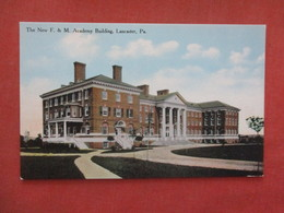 LanNew F & M Academy Lancaster - Pennsylvania >>  Ref 4063 - Lancaster