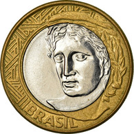 Monnaie, Brésil, Real, 2005, Rio De Janeiro, TTB, Bi-Metallic, KM:652a - Brasil