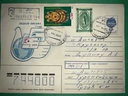 Cover Turkmenistan 1995 ( Aircraft Stamps ) - Turkmenistan
