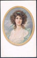 QJ157 Portrait De FEMME BEAUTIFUL LADY In FRAME - 1900-1949