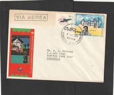 Argentina Cover South Africa - 2000 (1997 1995) - Julio Cortazar Hop Scotch Game Toucan Bird Birds - Storia Postale
