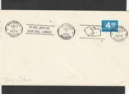Argentina Cover - 1976 - Dia Del Libro Book Books Numerals - Argentinien