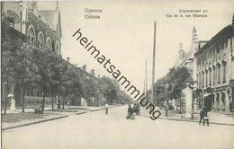 Odessa - Vue De La Rue Kherson - Ucraina