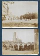 ALBI - Lot De 10 Photos Anciennes ( 11cm X 8 Cm ) - Places