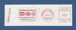 BRD AFS - FREIBURG I.BR., Südwest-Auto - VAG Audi VW - Autos