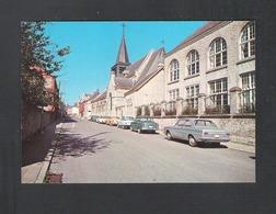 PHILIPPEVILLE - LE PENSIONNAT ET L'EGLISE (8984) - Philippeville