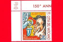 Nuovo - MNH - VATICANO - 2019 - 150 Anni Del Circolo S. Pietro - Colomba E Uomo – 1.10 - Vaticano