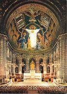 PARIS - Basilique Du Sacré-Coeur - Le Maître-autel Et La Mosaïque Du Choeur - Sacré Coeur
