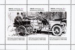 Ukraine Local  - CAR HISTORY - Haynes (1908) - 1  Sheet - Voitures