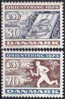 DÄNEMARK 1974 Mi-Nr. 573/74 ** MNH - Nuovi