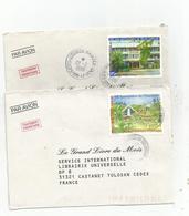 6 Lettres Dont 631/32  Beaux Cachets            (clasoran) - Polinesia Francese