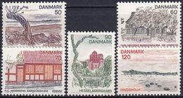 DÄNEMARK 1974 Mi-Nr. 564/68 ** MNH - Nuovi