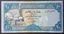 FD0513 - Yemen 10 Riasl Banknote 1990 #AA/98 838593 UNC - Yemen