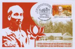 FDC Vietnam Viet Nam Issued On 17th Of May 2020 : 130th Birth Anniversary Of President Ho (Ms1123) - Vietnam