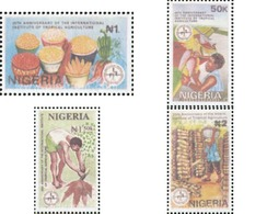 Ref. 624695 * MNH * - NIGERIA. 1992. 25TH ANNIVERSARY OF THE INTERNATIONAL INSTITUTE OF TROPICAL AGRICULTURE . 25 ANIVE - Nigeria (1961-...)