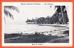 X97250 Iles SALOMON Baie De VISALE Missions Maristes D'Océanie 1930s - Solomoneilanden