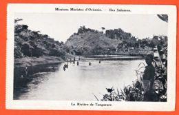 X97249 Iles SALOMON Rivière De TANGARARE Missions Maristes D'Océanie 1930s - Solomoneilanden